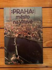 Praha město na Vltavě (Prague City On The Vltava) - Josef Molin 1990 Olympia EX