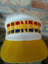 Vintage Trucker Hat mesh Snapback  REDNECK made USA hipsters Embroidered Retro