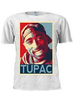 2PAC Tee TUPAC Shakur T-Shirt Westside Trust Nobody Hip Hop Rap Tee Tshirt M694