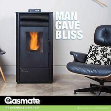 Gasmate Large Pellet Heater Environmentally Friendly 40Mj/h Low Noise PS-90