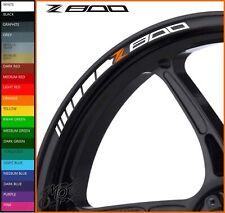 12 x Z800 Wheel Rim Decals Stickers - 20 colors choice - z 800 z800e e-version