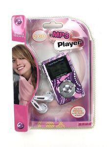 NEW CYBER GEAR DIGITAL MP3 PLAYER 2GB PINK/ PURPLE
