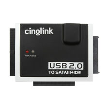 Cinolink USB 2.0 to SATA IDE Hard Drive Adapter For 2.5/3.5/5.25 HDD And SSD