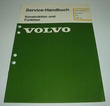Werkstatthandbuch Volvo 340 Motor B 172 / B172 ab Baujahr 1985