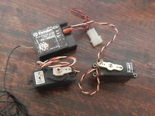 radio controlled receiver and servos
