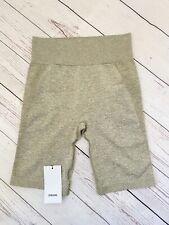 Gymshark Flex Cycling Shorts Khaki - Marl/taupe Size M