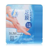 1Pair Milk Exfoliating Peeling Foot Mask Callus Hard Dead Skin Remover Mystic