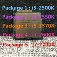 Intel Core i5-2500K i5-2550K i5-3570K i7-2600K i7-2700K i7-3770K CPU Processor