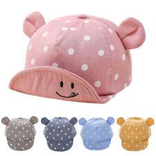 Cute Newborn Boy Girl Summer Cap Toddler Cotton Dot Baby Sun Hat