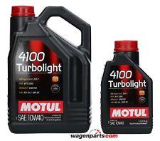 Aceite Motor Motul 4100 Turbolight 10W40, 6 litros