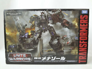 Transformers Unite Warriors UW02 Menasor Menazoru Takara Tomy