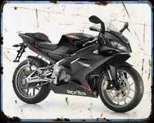Aprilia Rs125 10 1 A4 Metal Sign Motorbike Vintage Aged