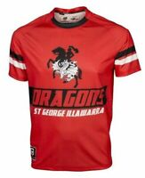 St George Dragons NRL Sublimated Graphic Logo Training T Shirt Sizes S-5XL!6