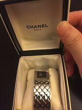 CHANEL Authentic USED WOMEN Silver H0009 Watch