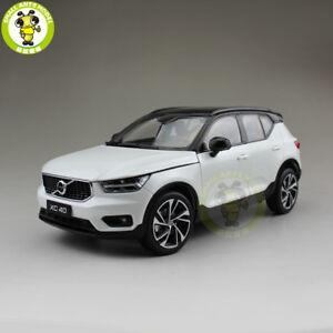 1/18 NEW Volvo XC40 SUV Diecast Metal Model Car SUV Toy Boy Girl Gift White