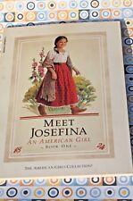 Meet Josefina, An American Girl Book One 1824, paperback FREE SHIPPING!
