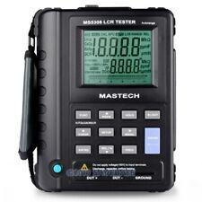 MS5308 Portable Handheld LCR Digital Bridge Meter 100Khz Dual Display DCR