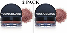 X2 Youngblood Crushed Mineral Blush New In Boxes Cabernet (Set of Two)