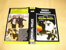 JAQUETTE VHS Spécial Police Richard Berry Carole Bouquet