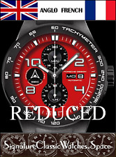 Porsche Design P6000 Watch, Flat 6 with highly elaborated 7750, Reduced