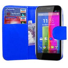 Fundas y carcasas Para Motorola Moto E color principal azul para teléfonos móviles y PDAs Motorola