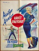 Plakat Modelljahr D'Autobus Bus Stop Marilyn Monroe Don Murray 60x80cm 60's