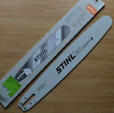 "Genuine Stihl 18"" 45cm Chainsaw Guide Bar MS261 MS260 3003 008 6817 Tracked"