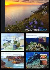 Azoren 2010 Jaarcollectie prest.book  postfris/mnh
