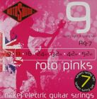ROTOSOUND R9-7 ROTO PINKS SUPER LIGHT 7 STRING GUITAR STRINGS 9-52  for sale