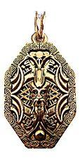 WOTAN 24ct Pendant Amulet Vintage Antique Viking Jewelr