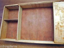 Vendo scatola vintage portaoggetti porta oggetti in legno box wood da restaurare