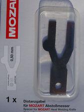 Mozart Revêtement de sol soudure coupe-bordure Espaceur 0,5 mm x 1 pour parquet parage-outil