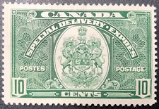CANADA 1939 # E7 - SPECIAL DELIVERY - 10c DARK GREEN - MINT HINGED F-VF