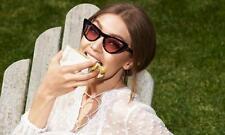 d8a8159715e 2 Vogue 5211-S W44 87 GIGI HADID CatEye Black Gray Gradient Sunglasses 54