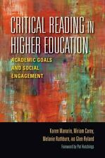 Critical Reading in Higher Education: Academic Goals and Social Engagement (Pape