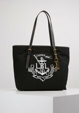 c23a14a239d1 Lauren Ralph Lauren TOTE bag RRP £160 Canvas Handbag Cotton Shopper