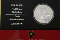 2007 Canada $20 Tall Ships Brigantine Silver Proof  Holographic in Original Pkg