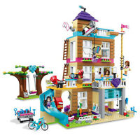 865PCS Friends Hotel Girls Building Blocks Bricks Figures Model Toys New Set