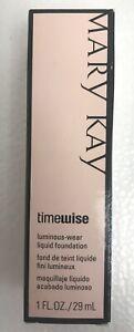 Mary Kay Timewise Luminous Wear Liquid Foundation CHOOSE YOUR SHADE NEW