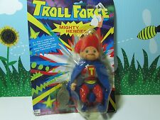 "TROLL FORCE MIGHTY MAN- 5.5"" Toys N' Things Troll Doll - NEW ON CARD"