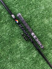 Project X HZRDUS Handcrafted Black 65 6.5 (X-Stiff) Wood Shaft Adapter + Grip