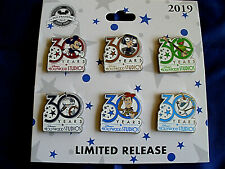 Disney * 30th HOLLYWOOD STUDIOS - 30 YEARS * New Limited 6 Pin Booster Style Set