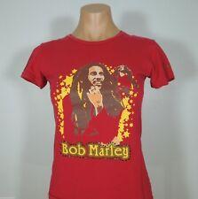 BOB MARLEY Pink Graphic T-Shirt Juniors ZION ROOTSWEAR size XS
