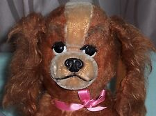 Vintage Schuco Lady Dog Bigo-Bello Mohair Toy Germany from Disney Lady & Tramp
