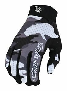 2022 Troy Lee Designs GP Air Formula Adult Motocross Gloves Camo Black/Grey