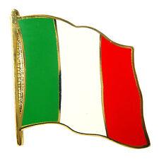 Flaggen Pin Italien ca. 20 mm Anstecknadel Anstecker Fahnenpin
