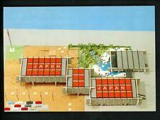 Exposition chrome postcard Expo 67 Montreal Canada Japanese Pavilion