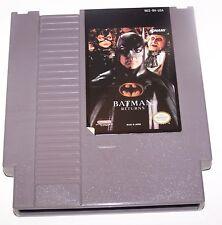 Vintage 1993 Batman Returns NES Nintendo Video Game Cartridge - DC Comics