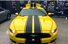 Car Racing Rally stripes Hood Roof Rear Bumper Decals for Mustang Stickers ZC699