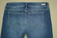 Sneak Peek Ankle Skinny Jeans Junior's Size 11 Frayed Step Hem Distressed Denim